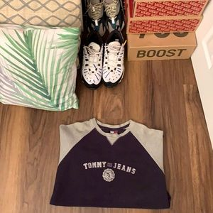 VTG 90s Tommy Jeans Multi Colour Long Sleeve